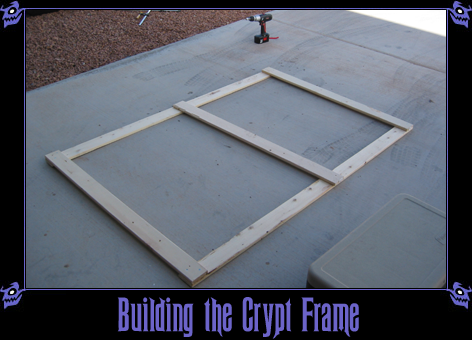 Building the Crypt Frame