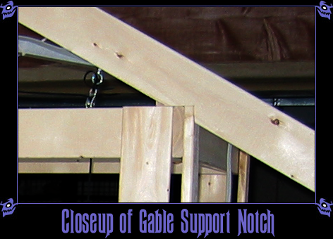Closeup of Gable Support Notch